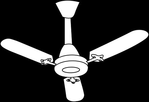 Ceiling Fan, Fan, Air Conditioning