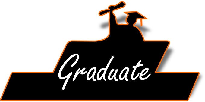 Graduate, Graduation, School, Student