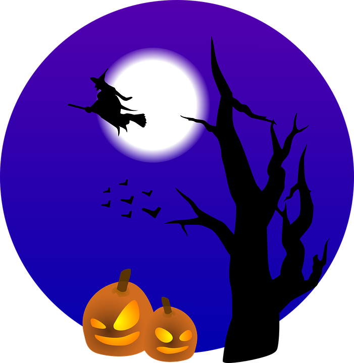 Halloween murci lagos luna llena gr ficos vectoriales gratis en pixabay - Murcielagos para halloween ...