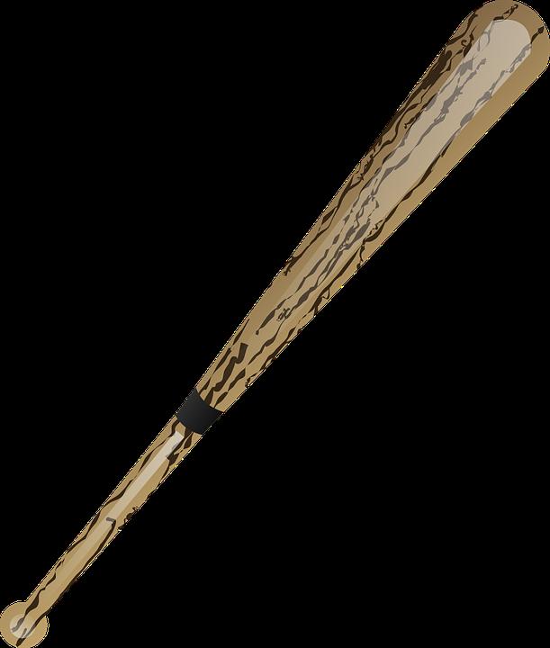 Baseball, Bat - Free vector graphics on Pixabay