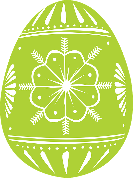 free vector graphic: easter, egg, decorated, holiday - free image