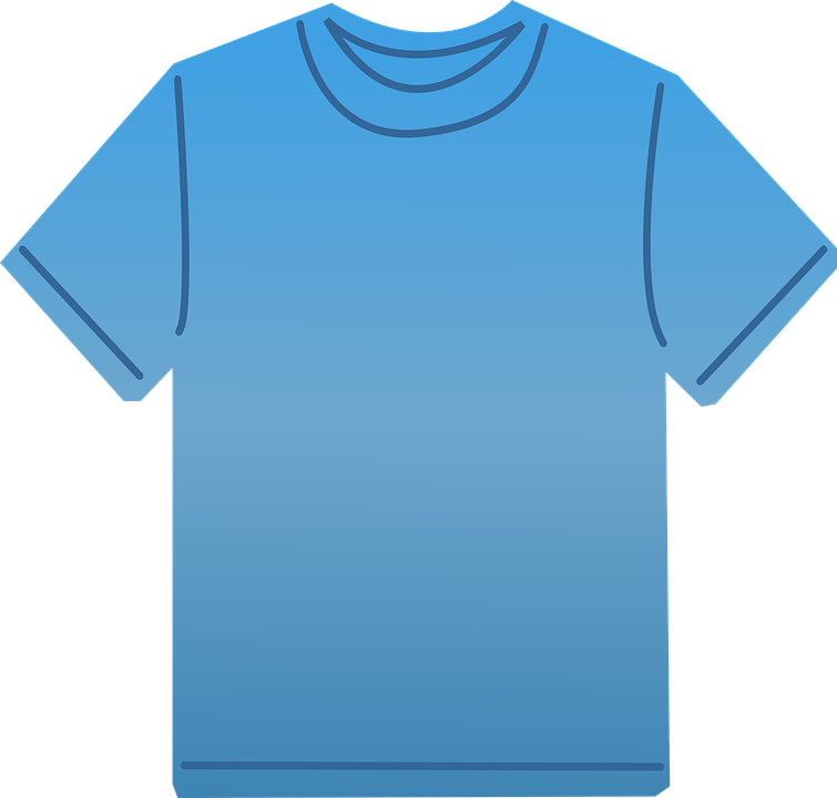 T-Shirt Blue Clothes - Free vector graphic on Pixabay c421b24fff0