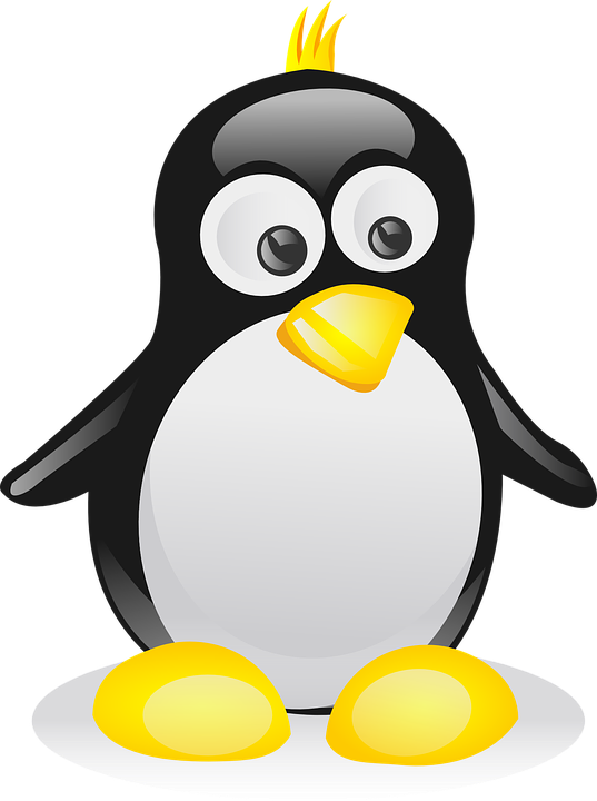Free Vector Graphic Penguin Bird Linux Mascot Punk