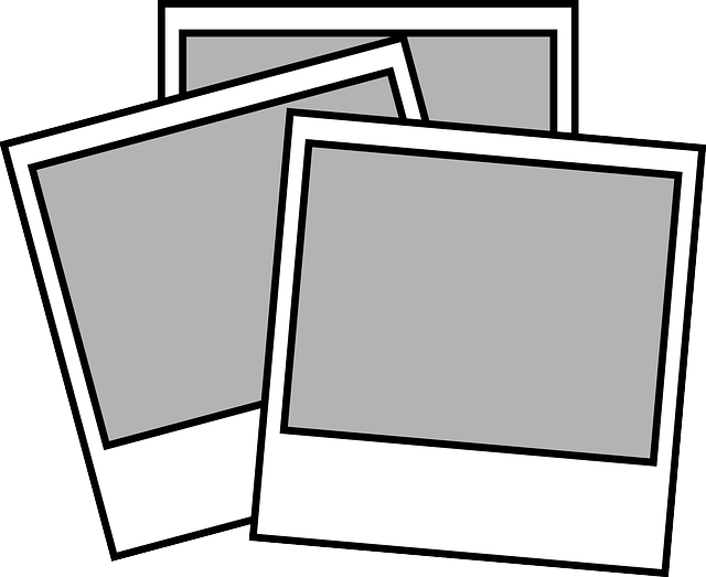 Line Drawing Photo : Polaroid pictures album · free vector graphic on pixabay