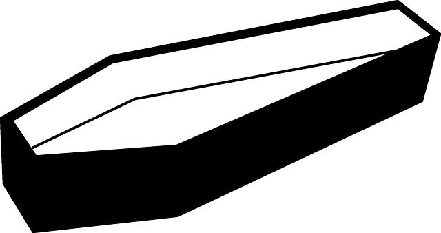 Free Vector Graphic: Coffin, Dracula, Black, Casket