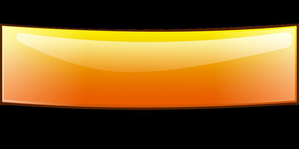 Banner Doblado Brillante · Gráficos Vectoriales Gratis En