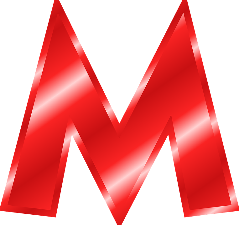 Alphabet M Abc 183 Free Vector Graphic On Pixabay