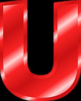 Alphabet, U, Abc, Letter