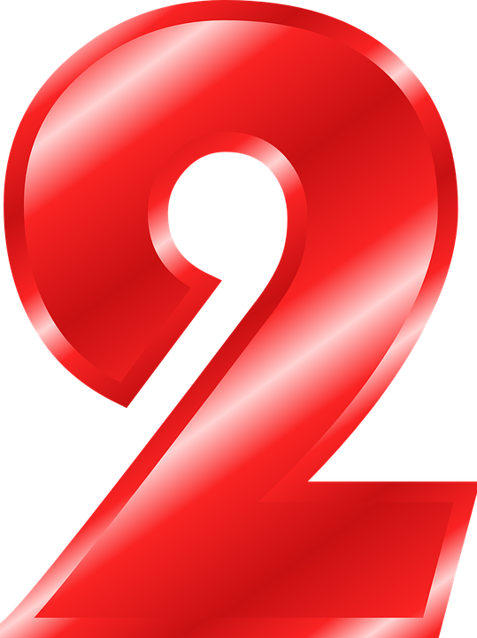 number 2 digit free vector graphic on pixabay