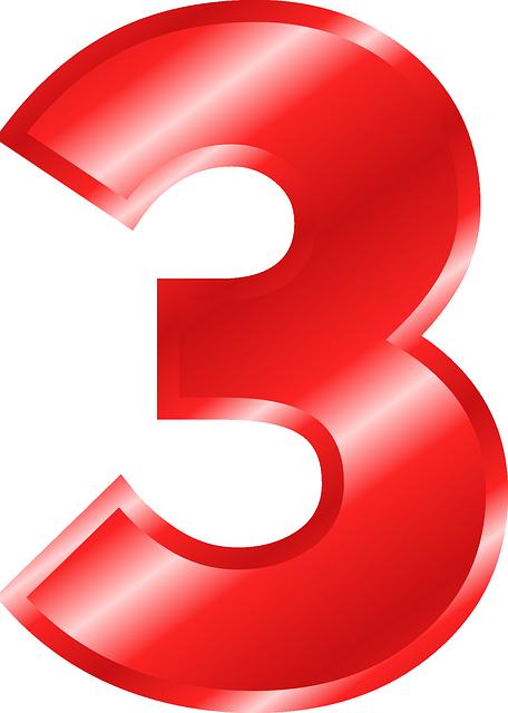 Number 3 Digit  U00b7 Free Vector Graphic On Pixabay