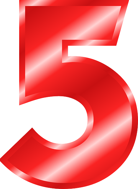 Number 5 Digit 183 Free Vector Graphic On Pixabay