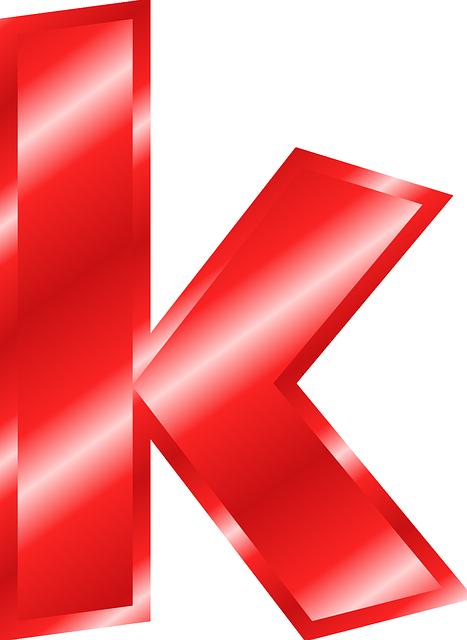 Alphabet K Abc · Free vector graphic on Pixabay