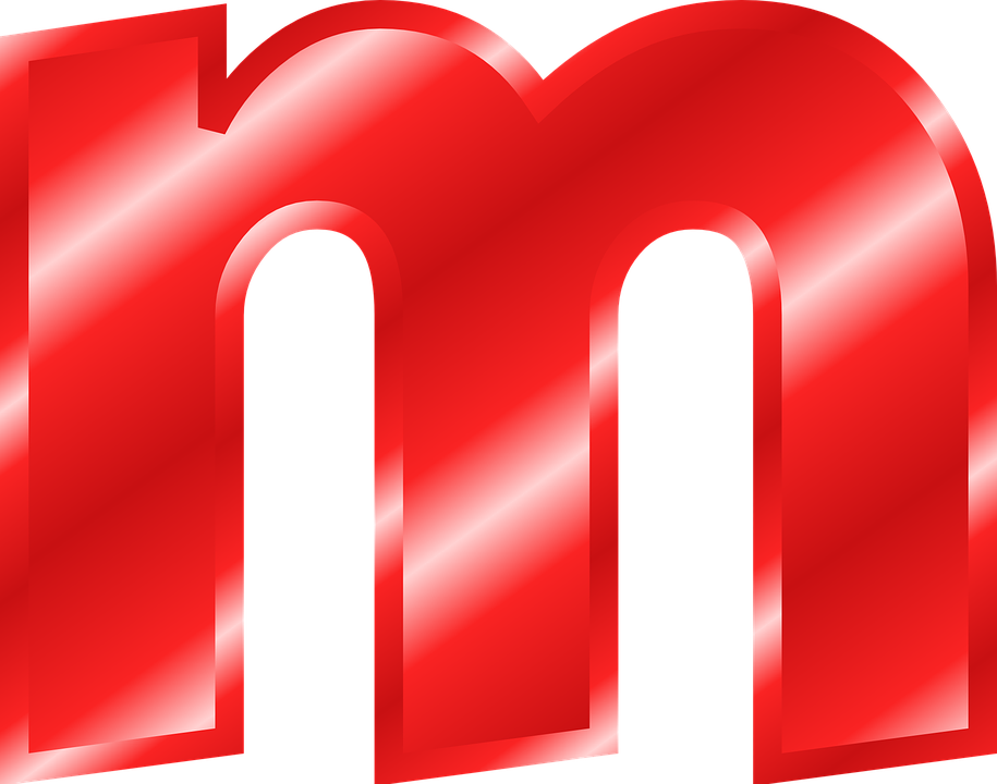 Alphabet M Abc Letter Alphabetic Character