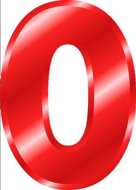 Zahl 0 Ziffer - Kostenlose Vektorgrafik auf Pixabay