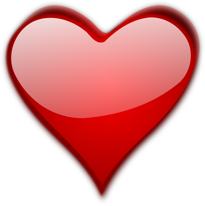 Heart love valentine free vector graphic on pixabay for Clipart cuore