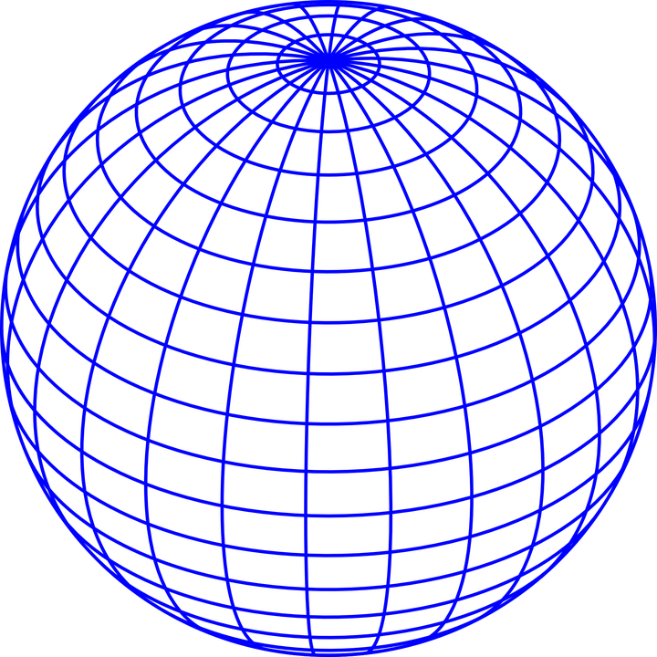 Coordinates Ball 3D · Free vector graphic on Pixabay