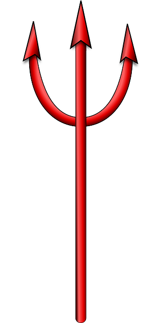 devil pitchfork 183 free vector graphic on pixabay