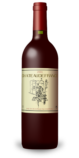 Free Vector Graphic Bordeaux Bottle Wine France Free
