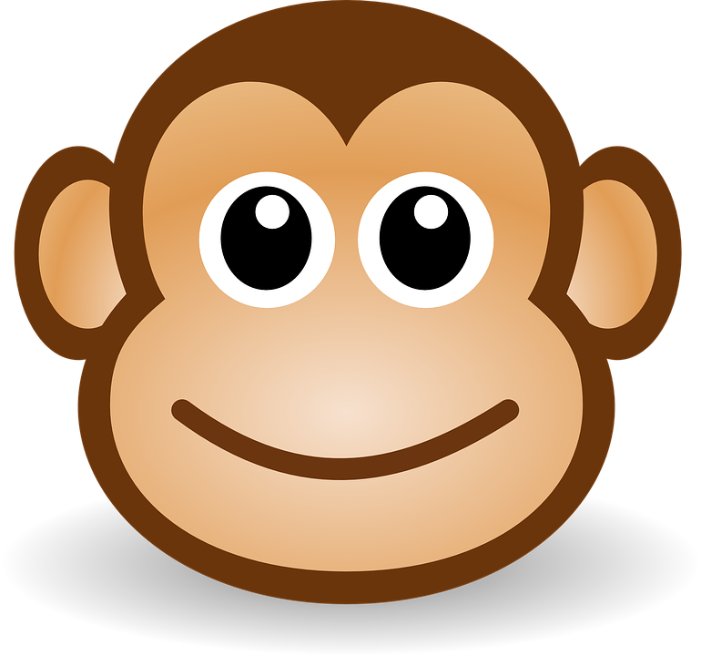 Monkey Ape Anthropoid · Free vector graphic on Pixabay
