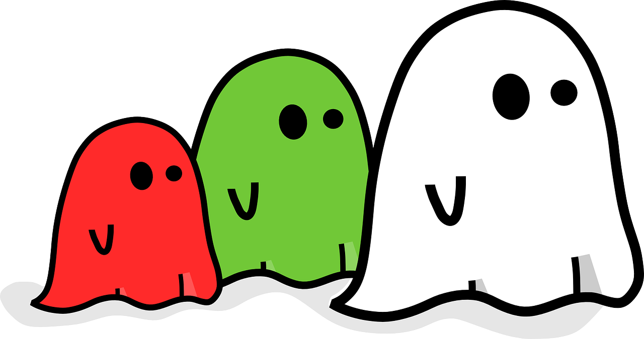 Ghost Spooky Haunted - Free vector graphic on Pixabay
