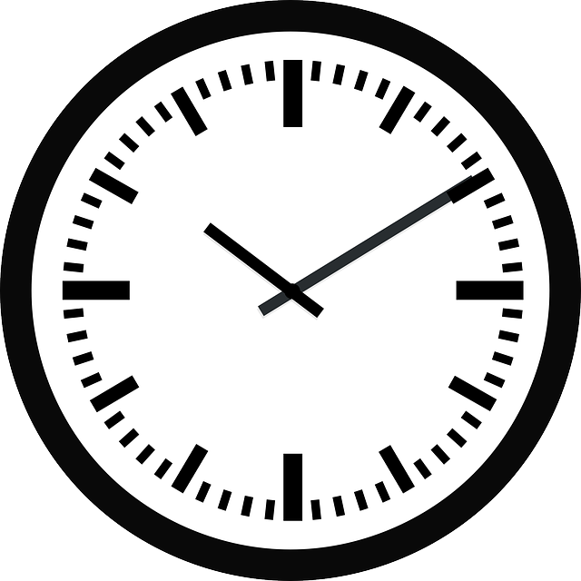 time clock ticking  u00b7 free vector graphic on pixabay