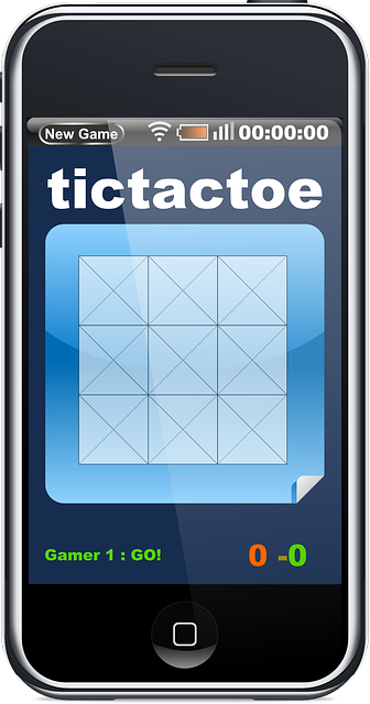 Smartphone Tictactoe App · Free vector graphic on Pixabay