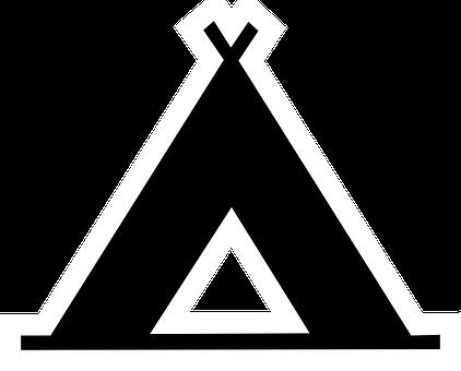 ティーピー, キャンプ, 地図, ポイ, テント, インド