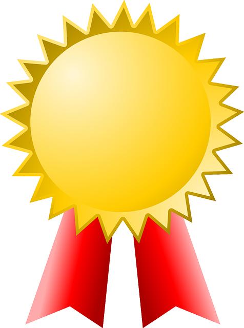 Award Gold Winner · Free vector graphic on Pixabay