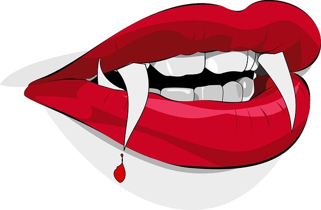 Dracula Fangs Vampire · Free Vector Graphic On Pixabay