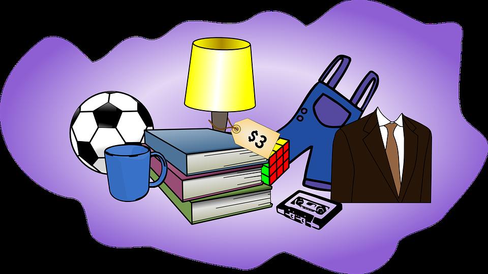 Garage Sale Jumble Car Boot Free Vector Graphic On Pixabay
