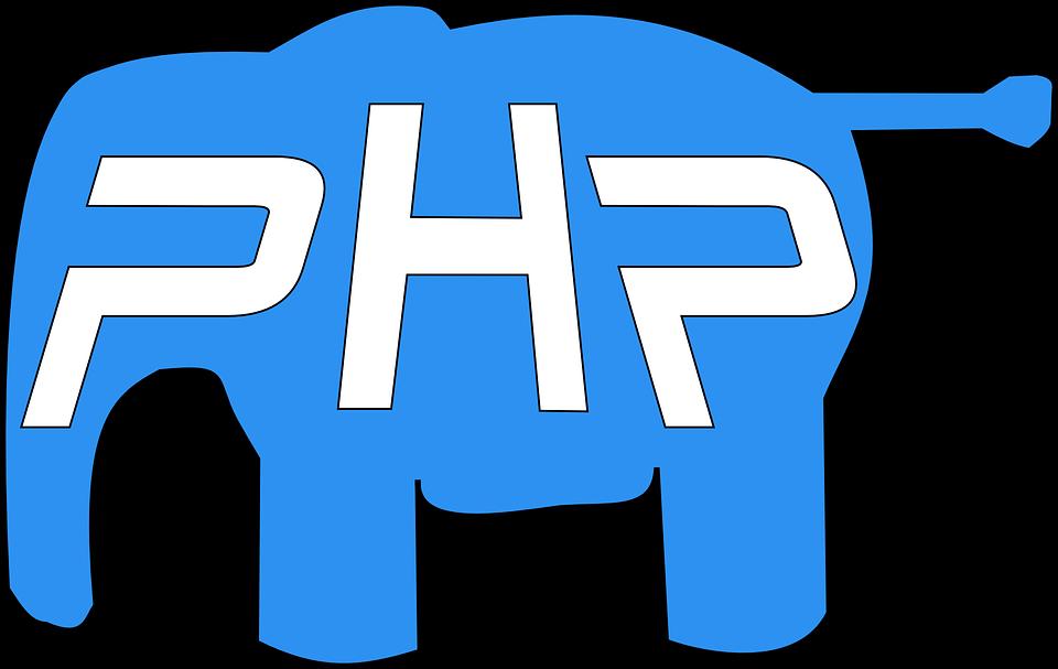 Gambar Vektor Gratis Php Gajah Logo Pixabay