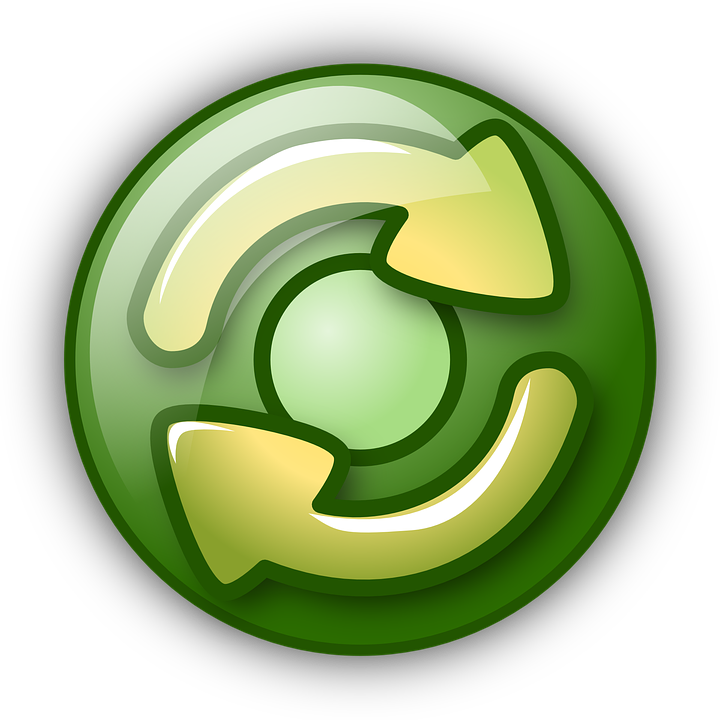 Free Vector Graphic Redo Restart Retry Arrows Green