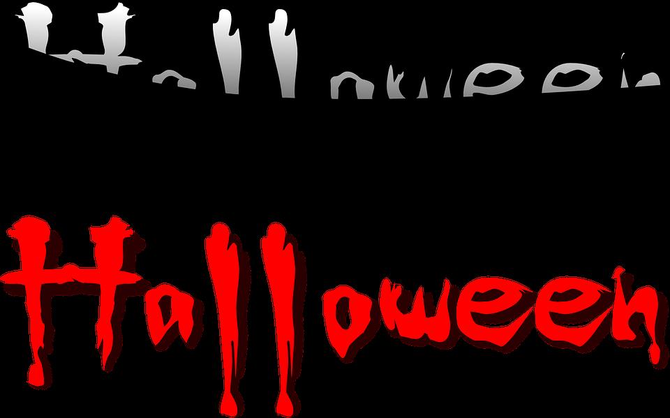 Halloween Text Blut · Kostenlose Vektorgrafik auf Pixabay