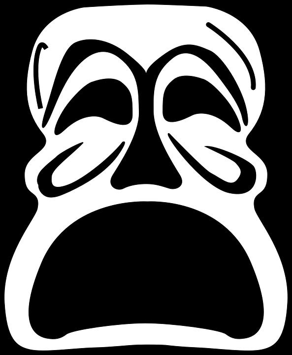 Topeng Bahagia Sedih Gambar Vektor Gratis Di Pixabay