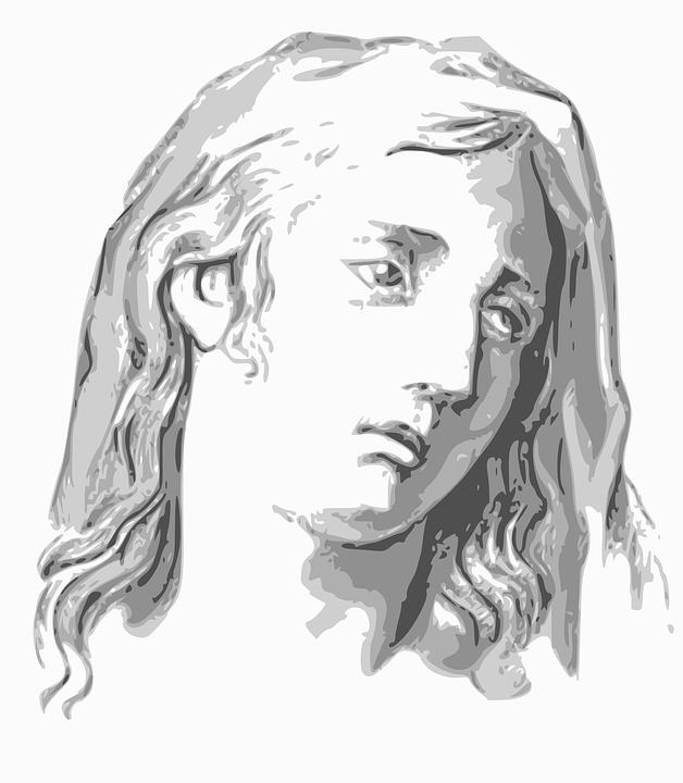 Maria Wajah Wanita Gambar Vektor Gratis Di Pixabay