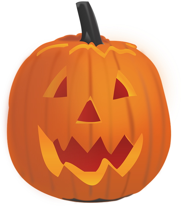 Free Vector Graphic Pumpkin Lantern Carved Face Free