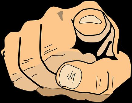 You, Index Finger, Pointing, Finger
