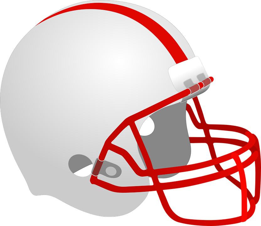 American Football Helmet Huskers Free Vector Graphic On