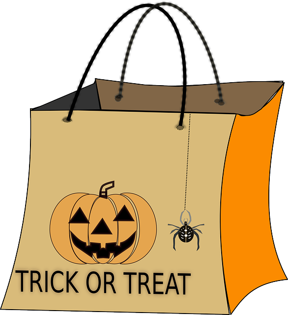Halloween Bag Trick Or Treat · Free vector graphic on Pixabay
