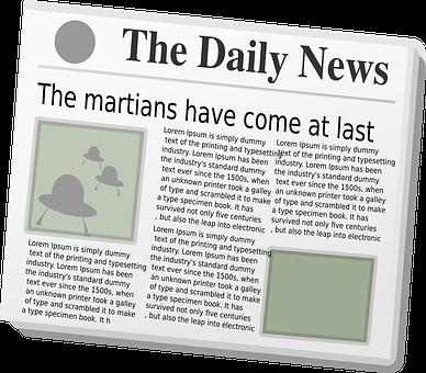 Newspaper, News, Paper, Journal