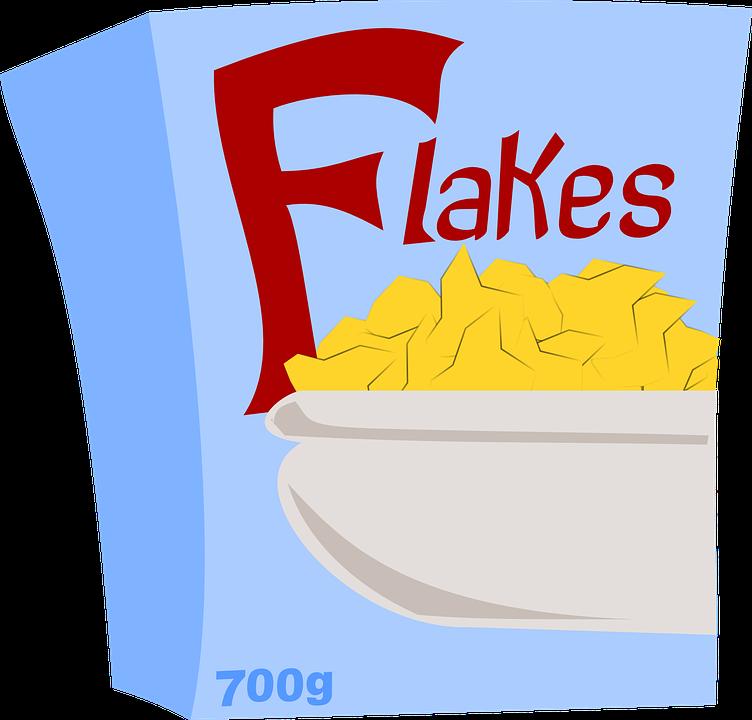 Corn Flakes, Cereals, Breakfast, Food, Flakes