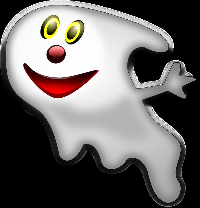 Gespenst Halloween Gruselig · Kostenlose Vektorgrafik auf Pixabay