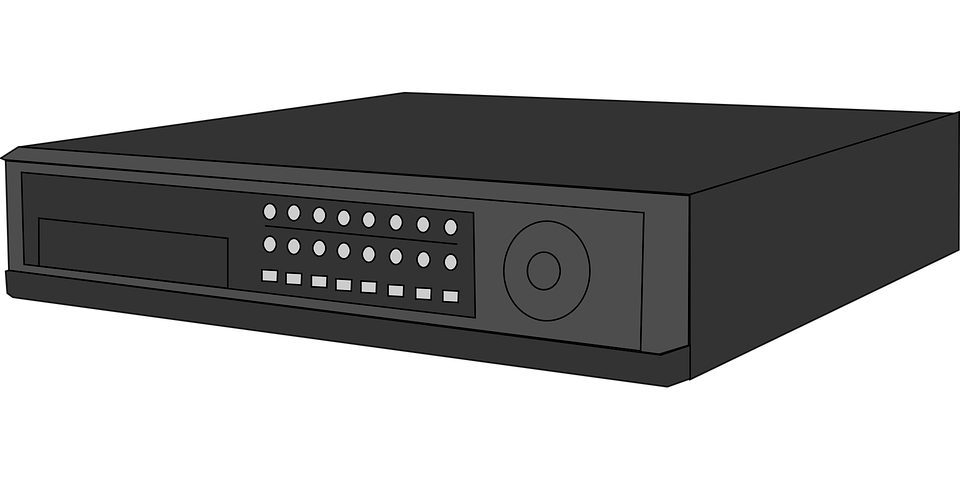 Vcr Video Recorder Vhs 183 Free Vector Graphic On Pixabay
