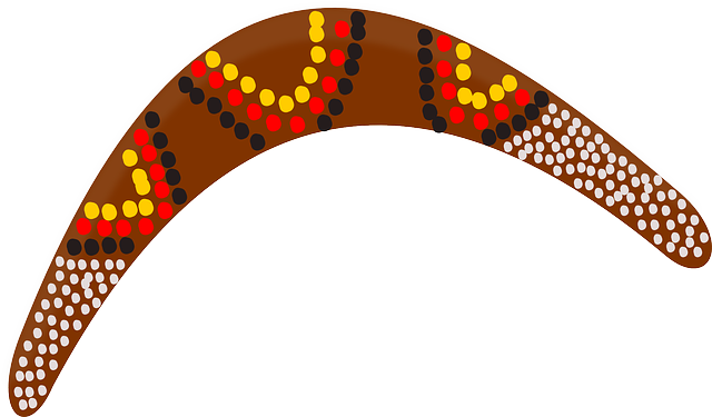 Boomerang Aboriginal Australia  U00b7 Free Vector Graphic On