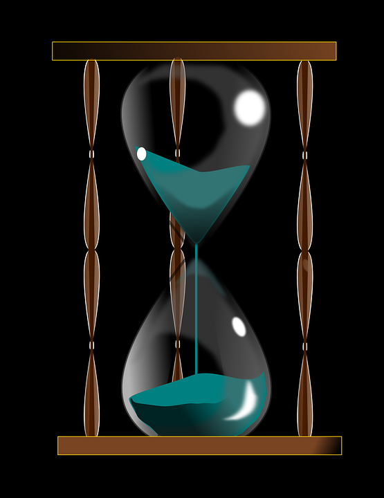 Hourglass Retro Time Free Vector Graphic On Pixabay