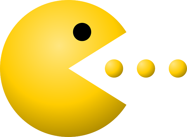 Pacman Pac-Man Dots · Free Vector Graphic On Pixabay