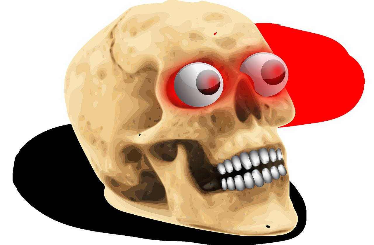 ком-то картинки черепки или прикольные самый обыкновенный штатив