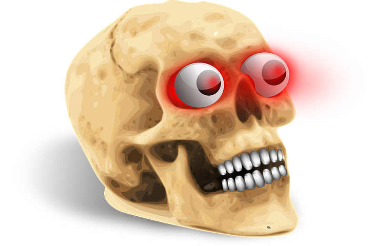 Картинки череп смешные, поздравлением защиты