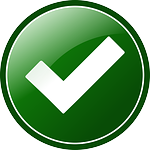 approved, button, check