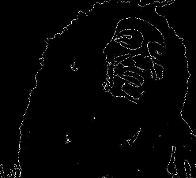 Free Vector Graphic Bob Marley Reggae Artist Face